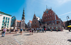 Day view of the Town Hall Square Royalty Free Stock Images