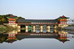 Day view of Woljeonggyo Bridge, Gyeongju, South Korea
