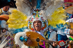 Day of the Virgin of Guadalupe in Mexico City Stock Photos
