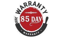 85 day warranty illustration design stamp. Badge icon vector illustration