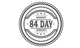 84 day warranty illustration design stamp. Badge icon royalty free illustration