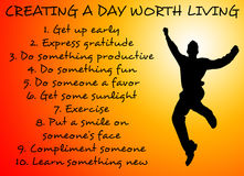 Day worth living Stock Photo