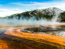 A Day in Yellowstone Royalty Free Stock Photos