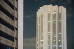 Dayabumi Complex building in the night in Kuala Lumpur, Malaysia Stock Images