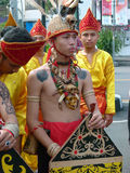 Dayak clothes Royalty Free Stock Image