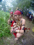Dayak dance Stock Photography