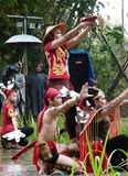 Dayak dance Stock Photos