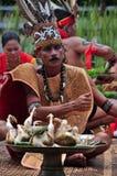 Dayak Kanayatn. From Kalimantan Indonesia Royalty Free Stock Image
