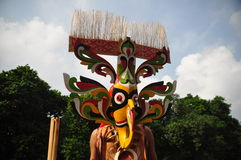 Dayak Mask Stock Images