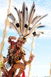 Dayak People Stock Image