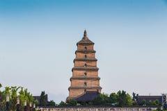 Dayan Pagoda Scenery Stock Image