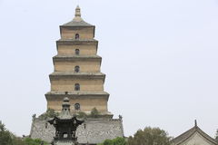 Dayan pagoda Stock Image