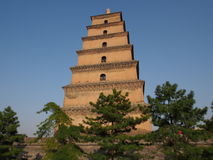 Dayan Tower in Xi'an Stock Photography