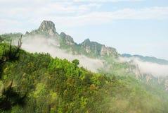 Dayao  scenery. Chinese Guangxi Jin Xiu Dayao scenery Stock Photo