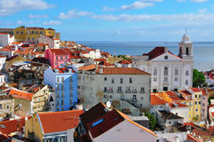 Daybreak in Alfama Stock Photos