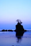 Daybreak at the Amaharashi coast Stock Photography