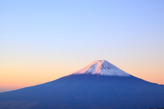 Free Daybreak At The Mt. Fuji Royalty Free Stock Photography - 35313547