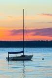 Daybreak on Crystal Lake Royalty Free Stock Images