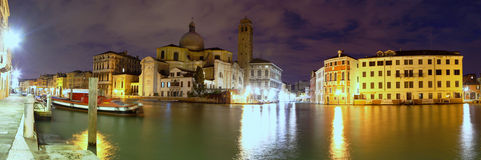 Daybreak on the Grand Canal, Venice Royalty Free Stock Image