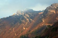 Daybreak mountain landscape Royalty Free Stock Photos