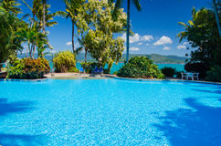 Daydream Island, Queensland, Australia. Relaxation and fun on the islands of the Whitsundays Stock Photos