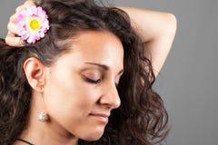 daydreaming женщина стоковое изображение rf
