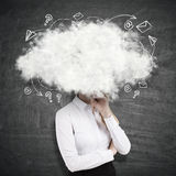 Daydreaming concept Stock Image