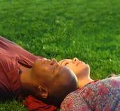 Daydreaming insieme fotografie stock libere da diritti