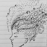 Daydreaming lined paper