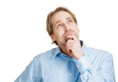Daydreaming man Royalty Free Stock Photography