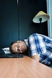 Daydreaming nell'ufficio Immagine Stock Libera da Diritti