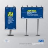 Daylight billboards mock-up Stock Photography