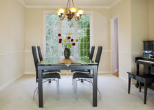 Daylight Formal Dining Room Royalty Free Stock Photography