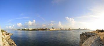 Daylight habana bay skyline panorama Stock Photo