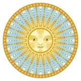 Daylight Mandala Stock Photo