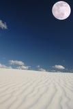 Daylight Moon Stock Photo