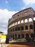 Colosseum in the daylight Stock Photos