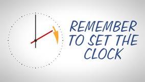 Daylight saving time Stock Photos