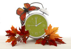 Daylight Saving Time Ends concept Stock Photo