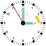 Daylight saving time Royalty Free Stock Photo