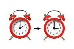 Daylight Saving Time, Summer Time change Stock Image