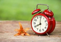 Daylight savings concept Royalty Free Stock Image