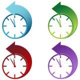 Daylight Savings Time Clock. An image of a Daylight Savings Time Clock vector illustration
