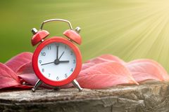 Free Daylight Savings Time Concept, Time Change Royalty Free Stock Photos - 168546468