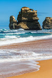 Daylight view of beach at Gibson Steps in Twelve Apostles by Gre Royalty Free Stock Photo