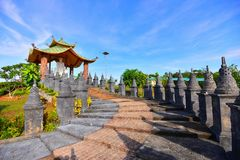 Free Daylight Vihara Barelang Batam Stock Photography - 116229312