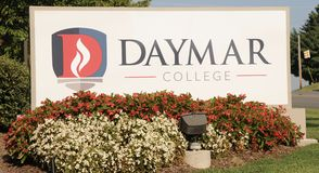 Daymar College Jackson, TN. Daymar College has been providing exceptional career training since 1963. As a career training school, Daymar College offers more royalty free stock image