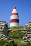 The Daymark. St. Martin's, Isles of Scilly, Cornwall Stock Photos