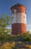 Daymark. Old daymark in Stockholm archipelago royalty free stock photography