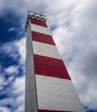 Daymark do ponto de Gribben em Cornualha Reino Unido Inglaterra imagem de stock royalty free